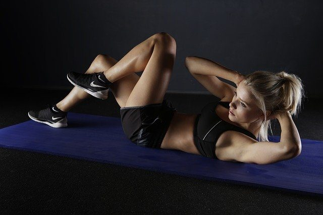 woman looking to achieve health and money as a fitness model