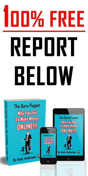 Zero Cost Report The Guru Puppet by Andy Anderson